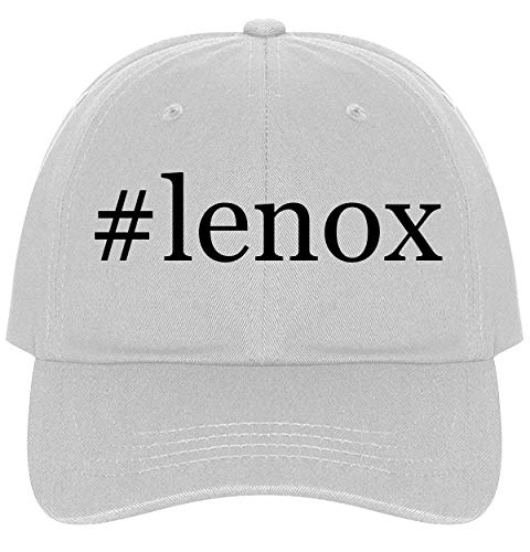 #Lenox - A Nice Comfortable Adjustable Hashtag Dad Hat Cap, White