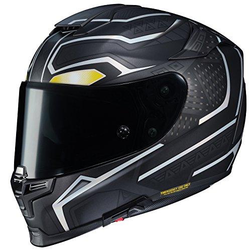 - HJC Unisex-Adult Full-face-Helmet-Style RPHA 70 ST Marvel Black Panther (Large)