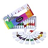 Artina Colaro Watercolour Paints Set 12 Tubes á 12ml Paints for Artists - Paint-Set for Professional or Hobby Painters