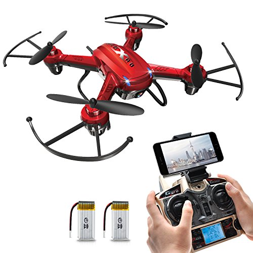 Potensic F186WH Hover RC Drone RTF Altitude Hold Mini Quadcopter UFO with 2MP WiFi Camera