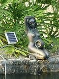 Aphrodite Solar Water Pump Statue