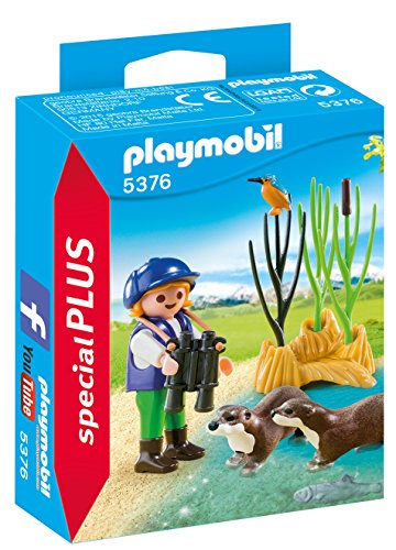 Otter Toy - PLAYMOBIL Young Explorer with Otters
