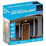 Brilliant Evolution BRRC109 Wireless Motion Sensor LED Ceiling Light - Indoor/Outdoor - 200 Lumens