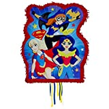 DC Super Hero Girls Pinata 21x18x3 [Contains 1 Manufacturer Retail Unit(s) Per Amazon Combined Package Sales Unit] - SKU# 34220