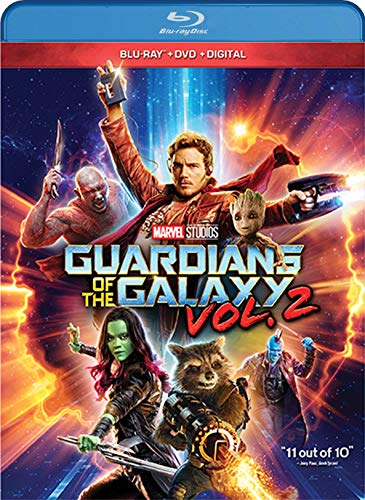 GUARDIANS OF THE GALAXY VOL. 2 [Blu-ray] (Dave Bautista Guardians Of The Galaxy 2)