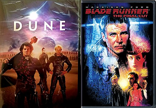Blade Runner & Dune DVD 2 Pack Sci-Fi Epic Movie Double Feature Classic - Tom Contact Ford