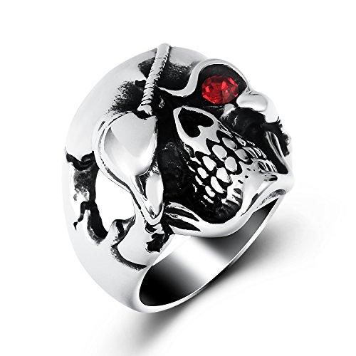 Skull Red Eyes - 4