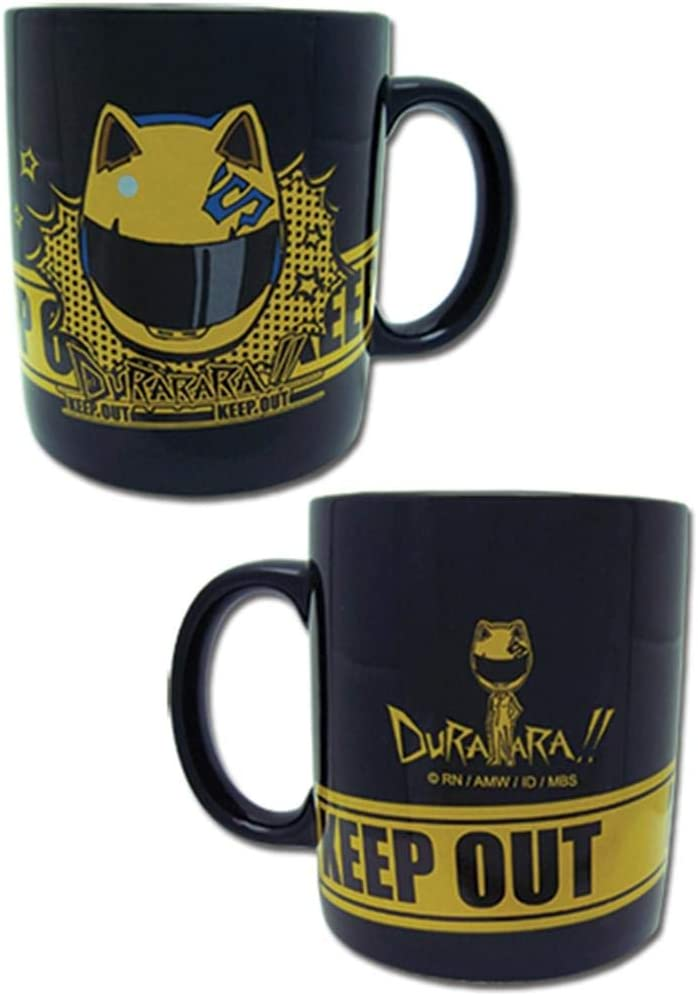Durarara- Celt Helmet Black Mug by GE Animation