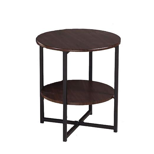 SH-tables Mesa Redonda de sofá, Mesa Auxiliar, Mesa de café, Mesa ...