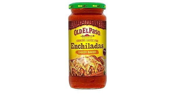 Old El Paso 340g De Salsa Para Enchiladas (Paquete de 6): Amazon.es: Alimentación y bebidas