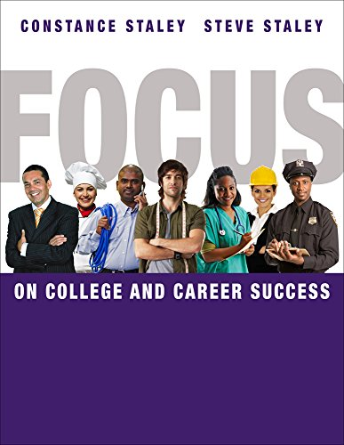 Best deals College Success CourseMate (with eBook, CSFI . ) for Staley/Staley' FOCUS and Career Success,