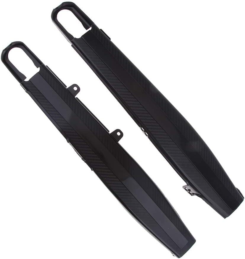 Black perfk Swingarm Protectors Guards Covers Plastic For Honda CRF250L 12-17