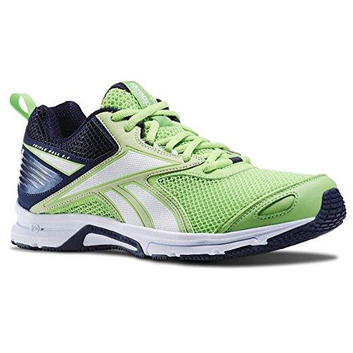 Reebok Triplehall 5.0 Zapatillas de deporte, Hombre Verde / Azul (Solar Green/Seafoam Green/Collegiate Nav)