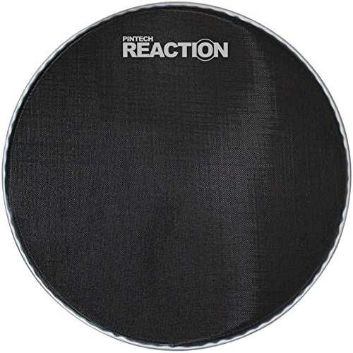 Pintech Percussion RH-18B-BD Black Reaction Series Mesh Head 18