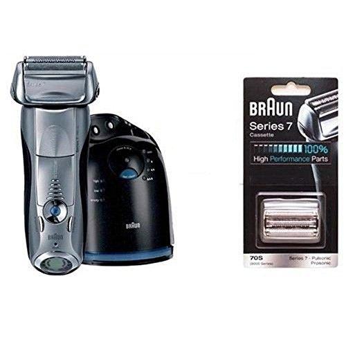 Price comparison product image Braun Series 7 790cc-4 Men's Rechargeable Shaver + Braun Series 7 70s Foil & Cutter Cassette 1ea DHL Delivery