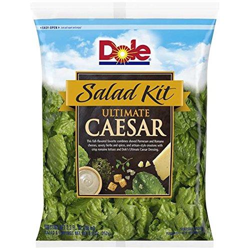 DOLE SALAD KIT CAESAR 8 OZ BAG PACK OF 2