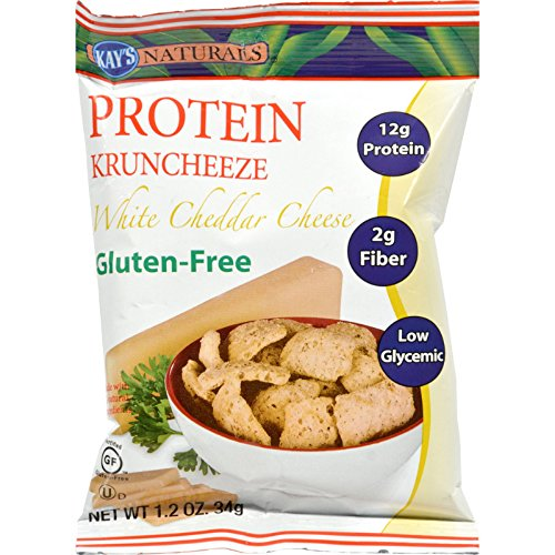 Kay s Naturals Better Balance Kruncheeze White Cheddar Cheese - 1.2 oz - Case of 6 - Gluten - HIgh Protein