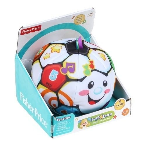 Fisher Price Laugh and N Learn Learning Musical Singing Soccer Ball Toy