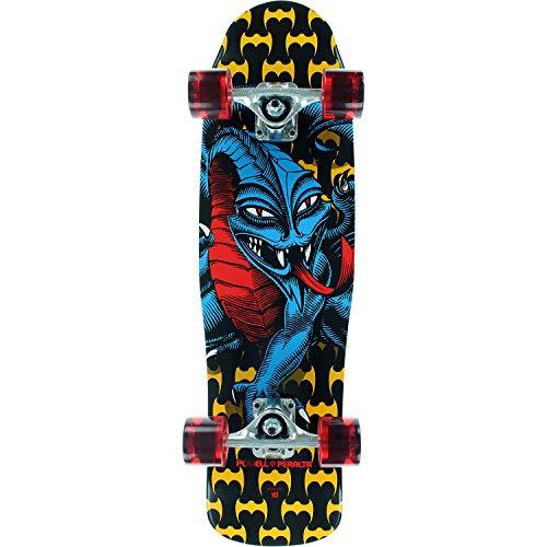 Caballero Dragon Black/Yellow / Blue/Red Complete Skateboard - 8