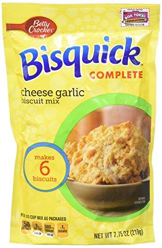 Bisquick Complete Mix Biscuits - Cheese Garlic - 7.75 oz (Best Cheese Biscuits)