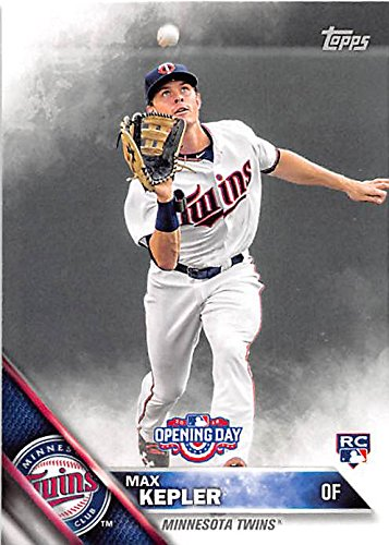 Max Kepler Baseball Card Minnesota Twins Germany 2016 Topps