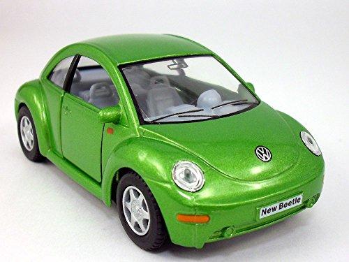 Volkswagen - VW - New Beetle 1/32 Scale Diecast Model - GREEN by Kinsmart