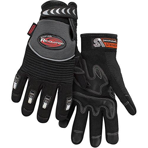 Steiner 0931-L Ironflex Work Gloves, Revolution Synthetic Leather,