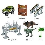 Lydaz Race Track Dinosaur World Bridge Create A