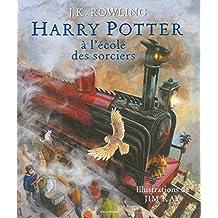 HARRY POTTER À L'ÉCOLE DES SORCIERS (VERSION ILLUSTRÉE)