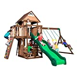 Best backyard discovery cedar swing set - Backyard Discovery Mount Triumph All Cedar Wood Playset Review