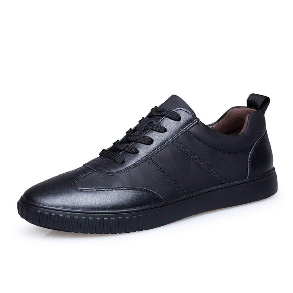 Eeayyygch Zapatos Mate de otoño para Hombre, Zapatos Trend Wild para Hombre, Zapatos Casual para Hombre (Color : Negro, tamaño : 38): Amazon.es: Hogar