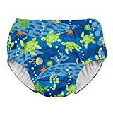 i play. Toddler Boys' Snap Reusable Absorbent Swimsuit Diaper, Royal Blue Turtle Journey, 3T: more info