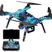 Skin For 3DR Solo Drone – Ocean Friends | MightySkins Protective, Durable, and Unique Vinyl Decal wrap cover | Easy To Apply, Remove, and Change Styles | Made in the USA