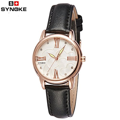 Summer Clearance Sale Day 2016 Luxury Rhinestone Women Wristwatch Luminous Roman Number Watch by easygogo