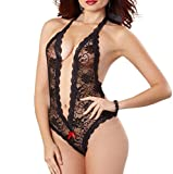 Lingerie?Vovotrade Women Plus Size Lace Babydoll Underwear Dress Sleepwear
