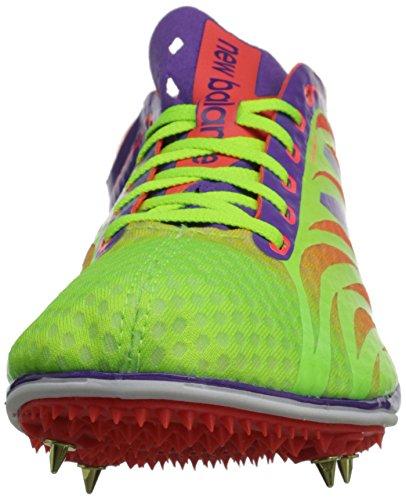 New Balance Womens LD5000V3 Track Spike Lime/Purple