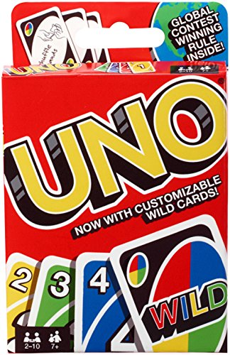 51N0q3gzJZL - Mattel Games UNO Card Game