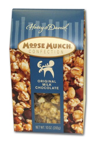 Moose Munch (Harry & David Milk Chocolate Moose Munch with Cashews & Almonds, 10oz)
