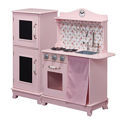 Teamson Kids TD-12273P Play Kitchen, Pink