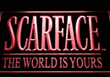 Scarface the World Is Yours Neon Light Sign
