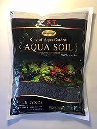 S.T. International Aqua Soil for Aquarium Plants, 4.4-Pound, Black