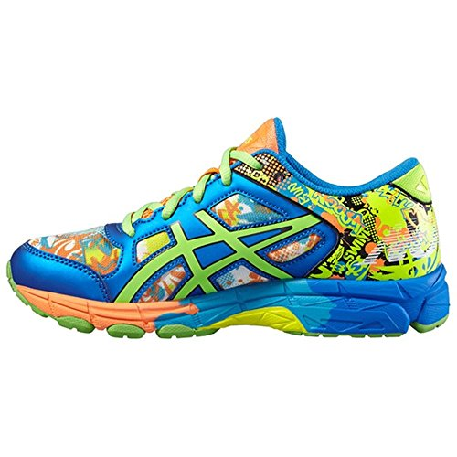 Junior Zapatillass GEL-NOOSA TRI 11 GS SAFETY YELLOW / GREEN GECKO / ELECTRIC BLUE 16/17 Asics SAFETY YELLOW / GREEN GECKO / ELECTRIC BLUE