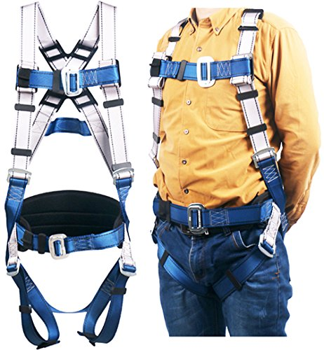 Full Body Climbing Harness (Full Body Safety Harness,for Climbing Harness Outdoor Mountaineering Outward Band Expanding Training Caving Rock Climbing Rappelling Equip)