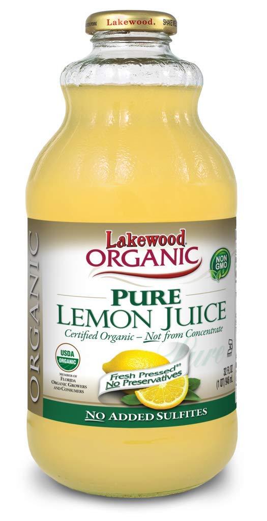 Lakewood Organic Pure Lemon, 32 Ounce (Pack of 6) by Lakewood (Image #2)