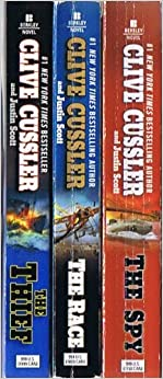 Book Clive Cussler - 3 Isaac Bell Adventures: The Thief / The Race / The Spy