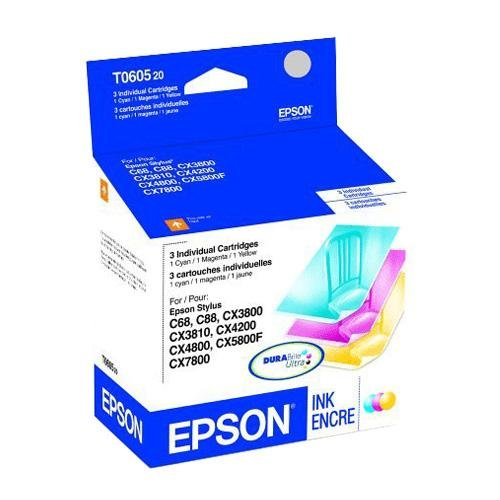 New-INK, MULTI PACK, CYAN, MAGENTA, - T060520 (Multi Pack T060520)