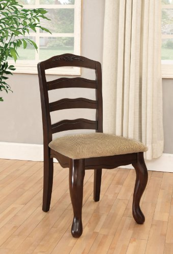 furniture-of-america-kathryn-classic-style-padded-fabric-side-chair-dark-walnut-finish