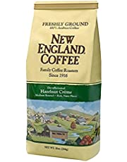 Freshly Ground New England Coffee, Decaffeinated Hazelnut
