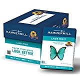 Hammermill 125534 Laser Print Office Paper, 98 Brightness, 28lb, 8-1/2 x 11, White, (2500 sheets.)