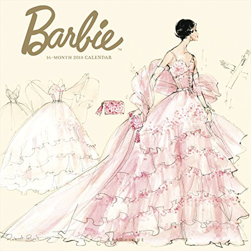 Graphique 2018 Barbie Wall Calendar (Robert Best Barbie Calendar)